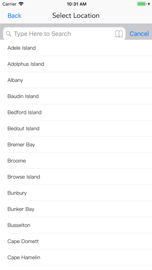 Wa Tide Times On The App Store