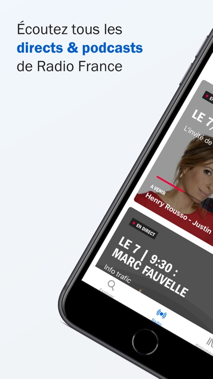 Radio France - direct, podcast screenshot-0