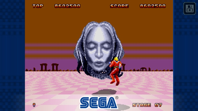 Space Harrier II Classic screenshot-1