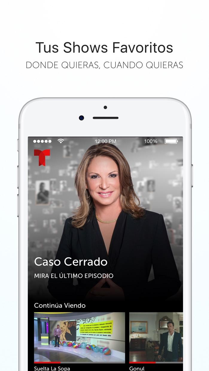 Telemundo–Capítulos Completos Screenshot