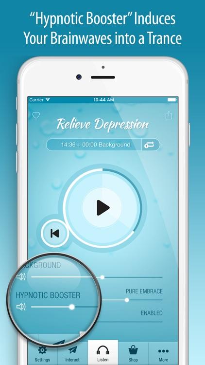 Relieve Depression Hypnosis screenshot-3