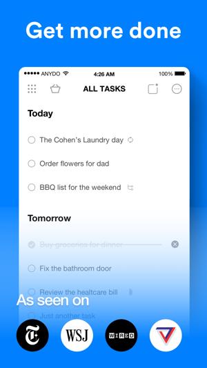 any do to do list calendar on the app store