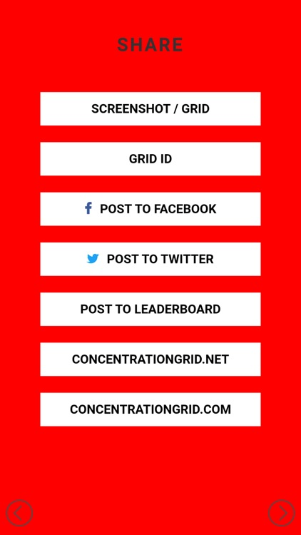 Concentration Grid screenshot-5