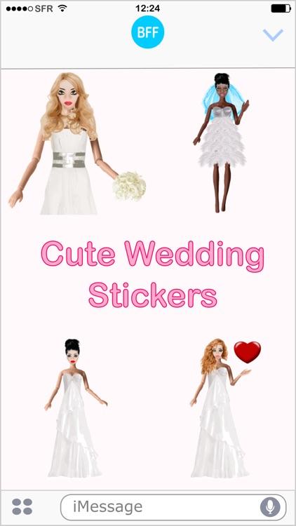 Wedding Fever - stickers