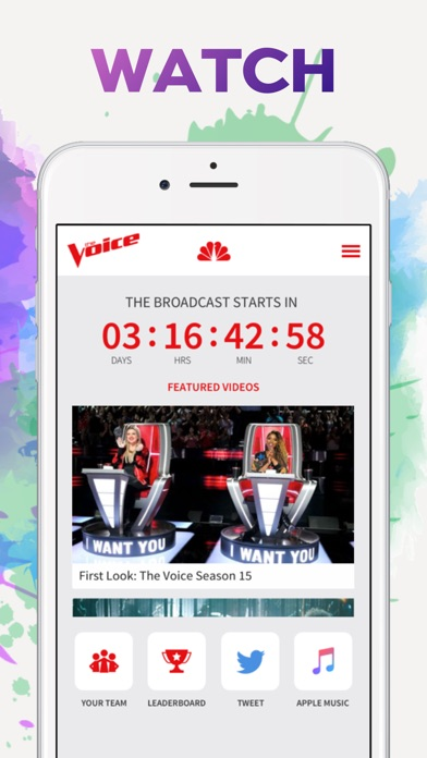 The Voice Official App on NBC for Windows