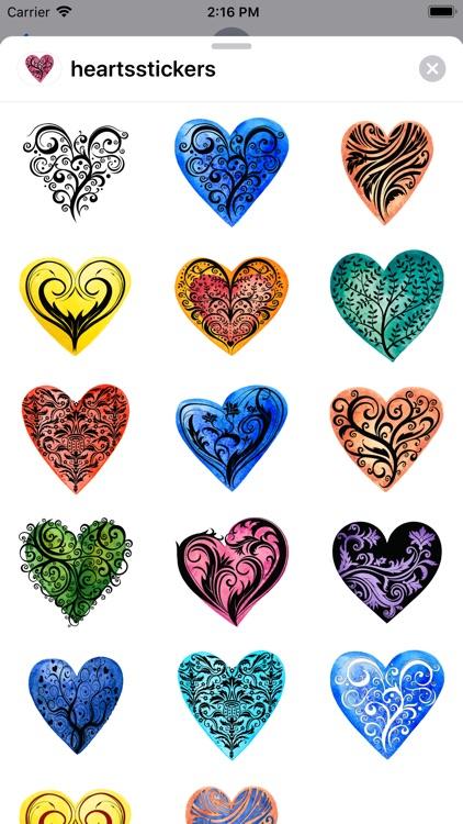 Heart Sticker Collection screenshot-3