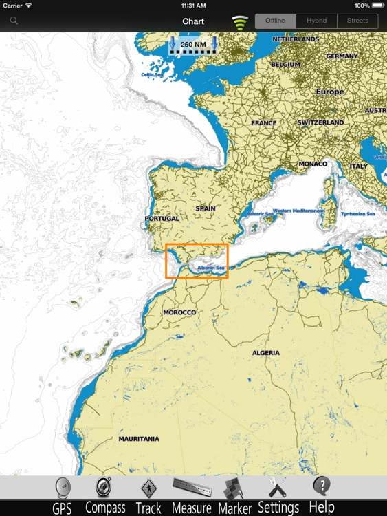 Andalusia Nautical Charts Pro screenshot-3