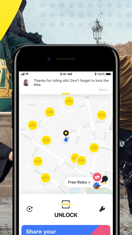 ofo — Get there on two wheels