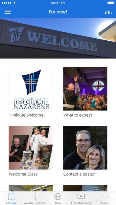 Wichita First Nazarene screenshot 1
