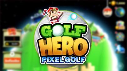 Golf Hero - Pixel Golf 3D screenshot 1