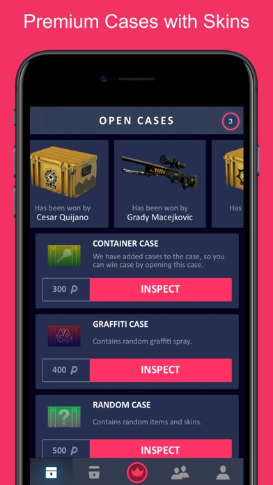 VIP Skins - Cases for CSGO | App Price Drops