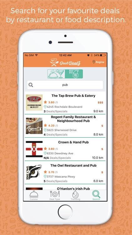 GrubDealz - Restaurant Deals screenshot-3