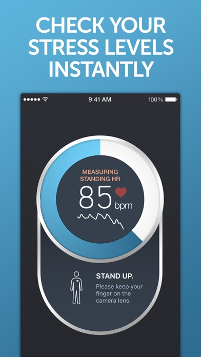 Screenshot for Instant Heart Rate+ HR Monitor in Hong Kong App Store