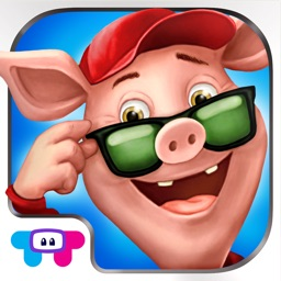 Three Little Pigs - Interactive Storybook for Kids