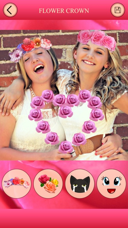 Flower Crown for Photo Editor screenshot-4