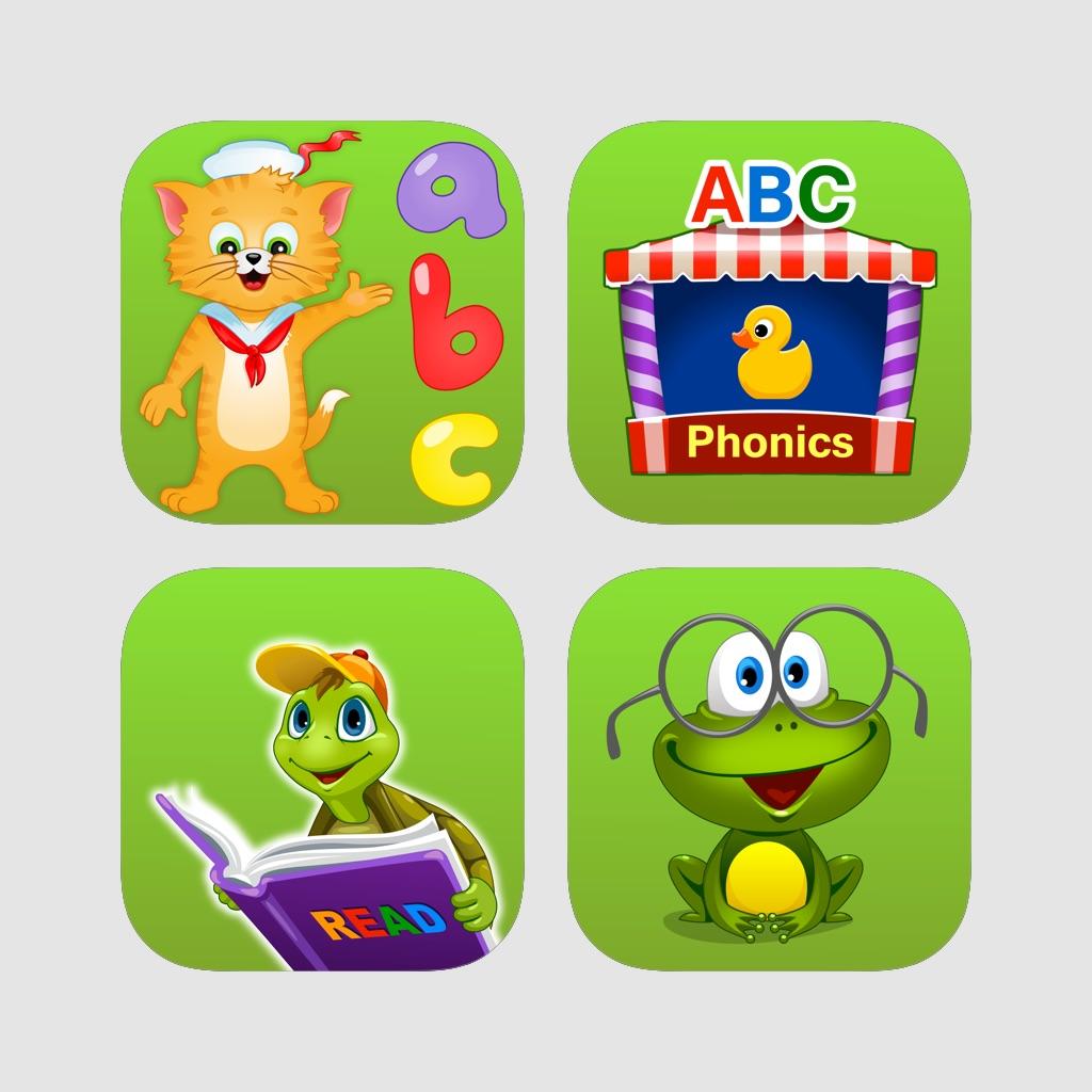 Get Ready for Kindergarten and First Grade: Preschool ABC Reading Curriculum Bundle