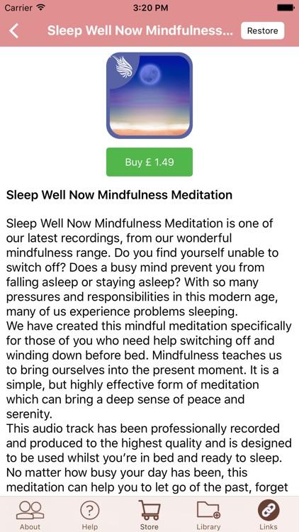 Peaceful Sleep Hypnosis for Deep Relaxation screenshot-3