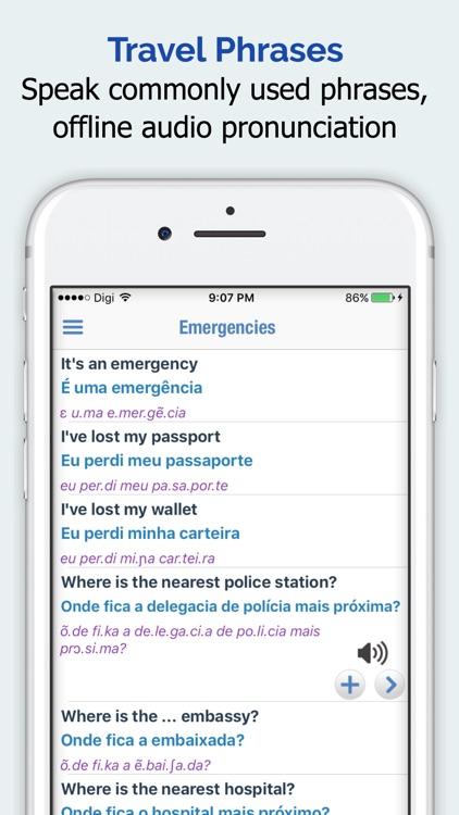 Portuguese Dictionary Elite screenshot-3