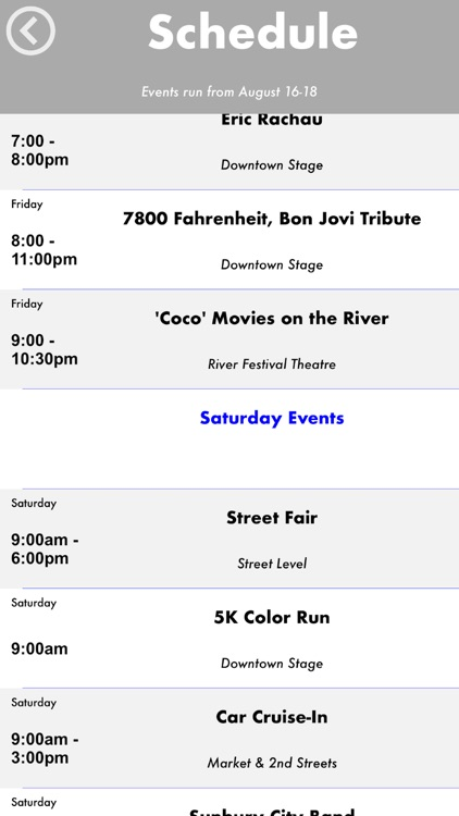 Sunbury River Festival screenshot-3
