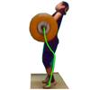 Weight Lifting Motion X - TARO TOMATSU