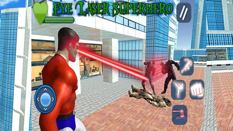 Eye Laser Superhero