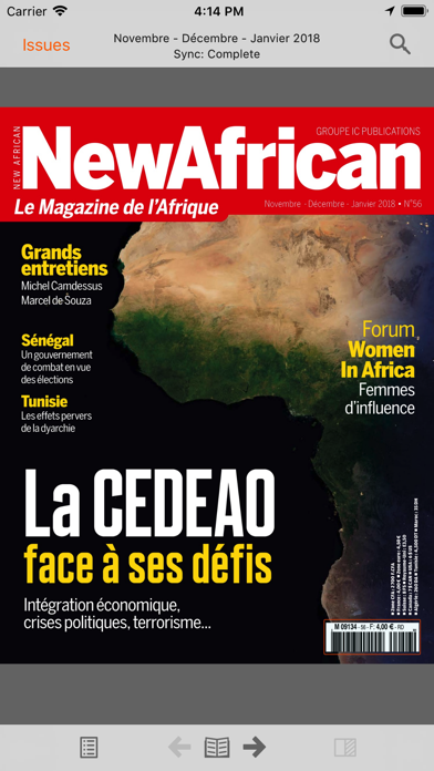 New African FR screenshot one