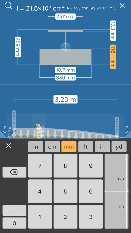 Beam Deflection Calculator screenshot-4