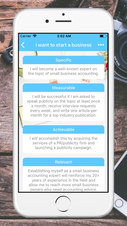 SMART Goals screenshot-1
