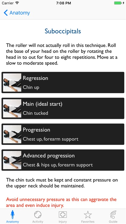 Foam Roller Techniques screenshot-1