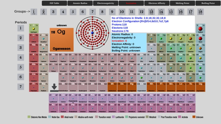 Element Fill Periodic Table screenshot-3