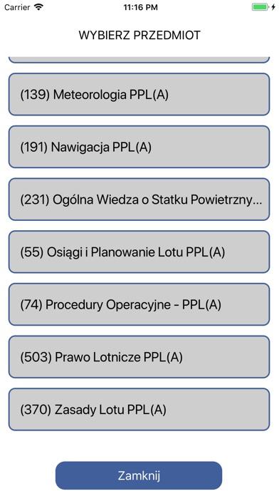 Egzamin ULC PPL(A) screenshot 3