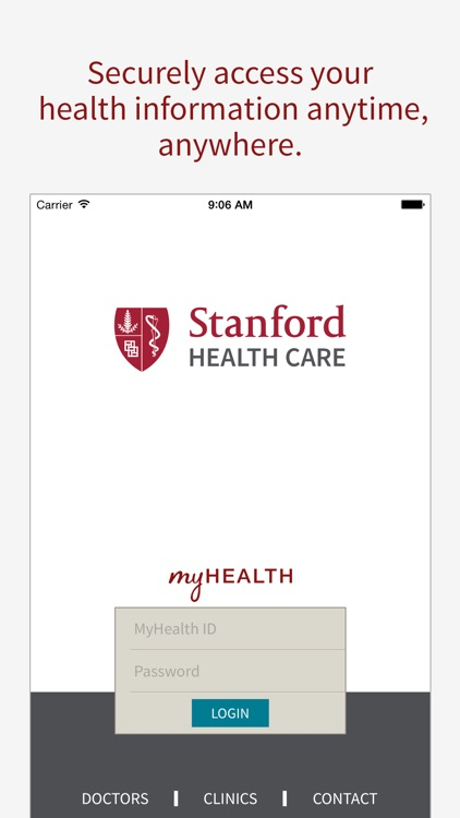 Stanford Health Care MyHealth screenshot-0