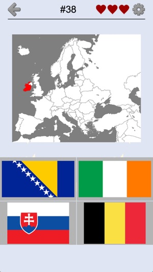 European Countries - Maps Quiz on the App Store