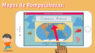 Continentes y Océanos screenshot 4
