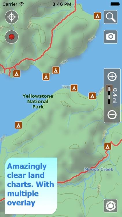 Yellowstone NP Hiking Trails