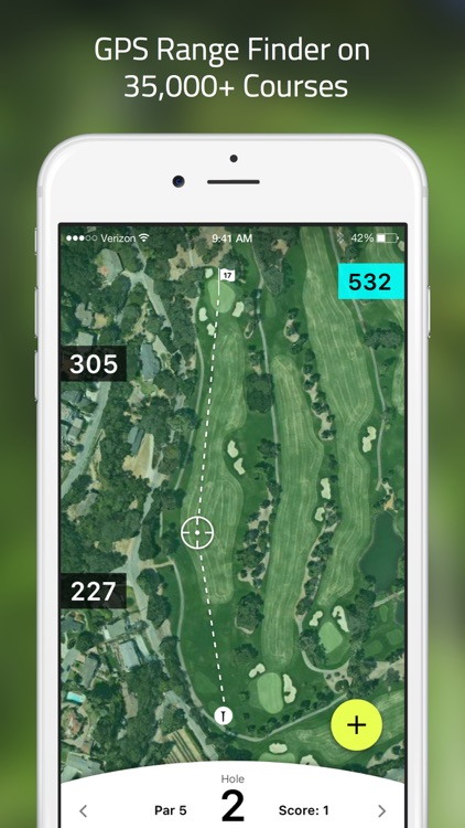 Golf GPS: TrackMyGolf finder