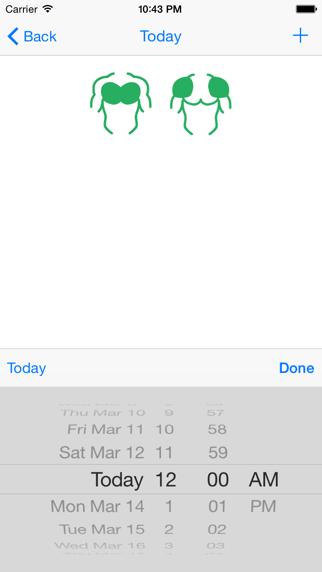 Gym Calendar Light BasicScreenshot von 4