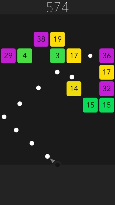 Power Balls - Block Breaker screenshot 1