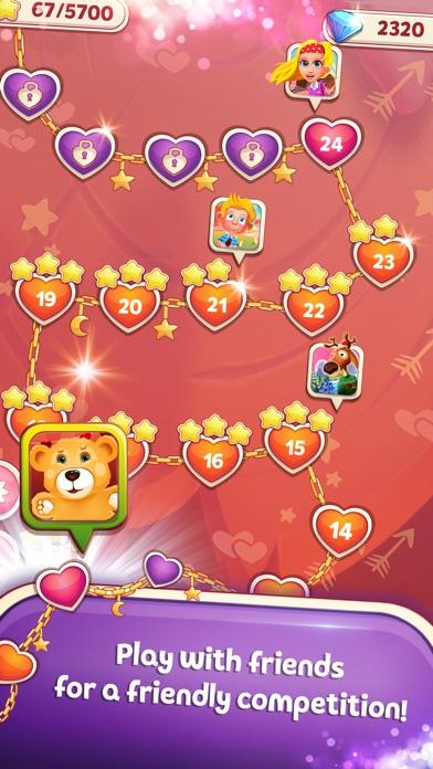 Sweet Hearts Match 3 screenshot 5