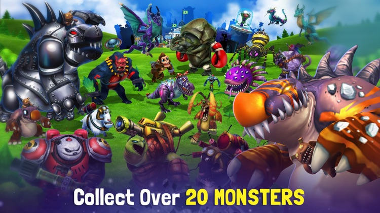 MonstroCity: Monster Battle Rampage screenshot-3