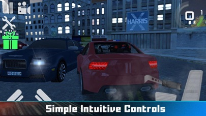 City Car Drag Driving Screenshot on iOS