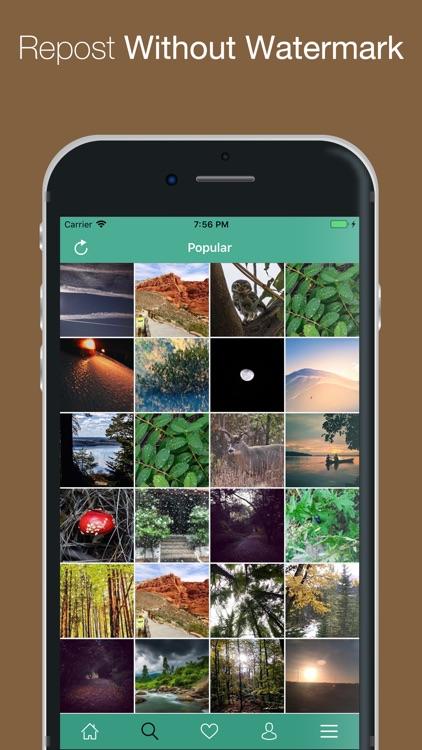 Grab - Repost Photos & Videos screenshot-3