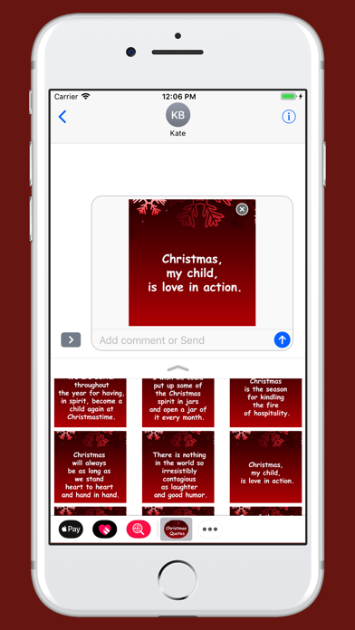 Christmas Quotes pack screenshot three