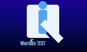 IQ Word5x TEST