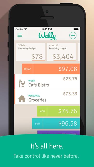 Wally Lite - Personal Finance Screenshot