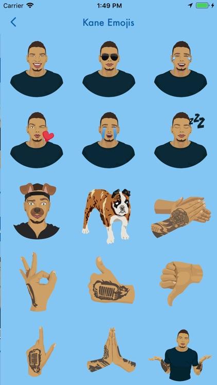 Kane Brown Emoji Pack and Game