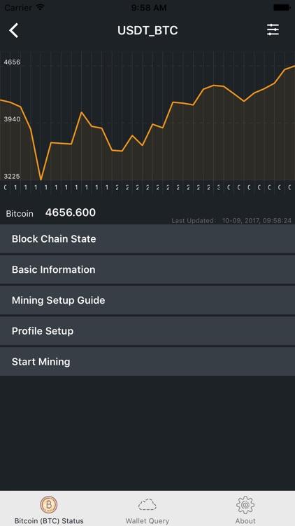Bitcoin Miner CPU (BTC) Gold