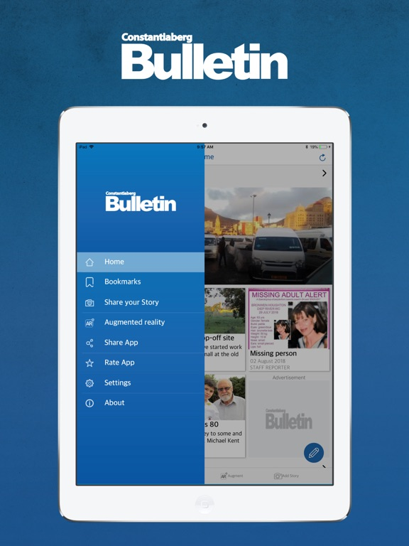 Image of Constantia Bulletin for iPad