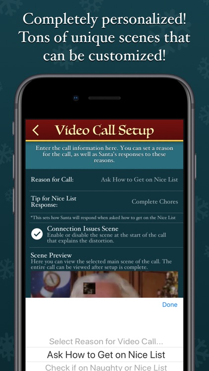 Speak to Santa™ - Video Call