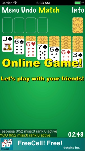 Solitaire! Online on the App Store